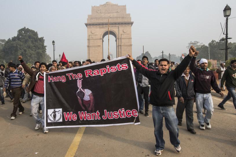 """Indie, protest przeciwko bezkarności gwałcicieli. """"Następny krok ku zmianie należy do mężczyzn"""" - mówi Sally Armstrong /Getty Images"""
