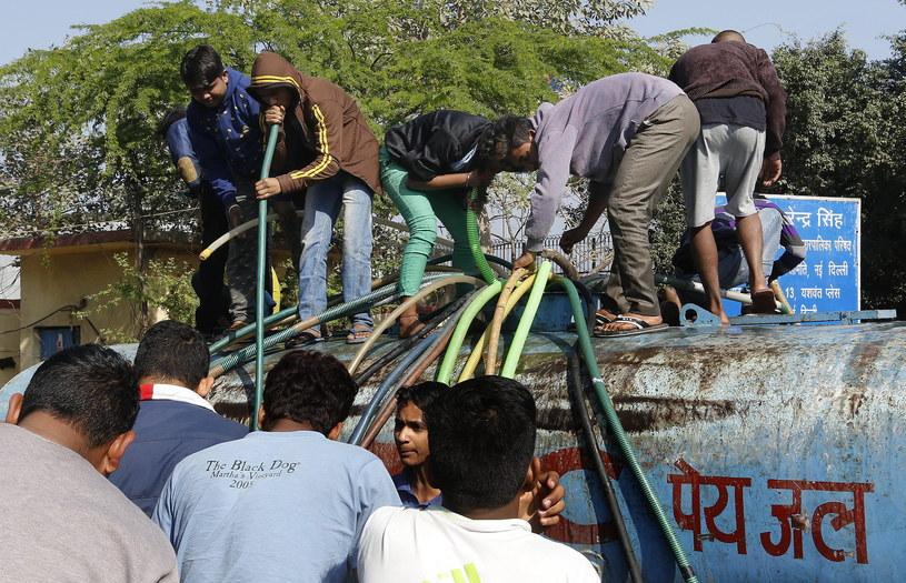 Indie: Protest rolników. Ponad 10 mln ludzi bez wody /PAP/EPA