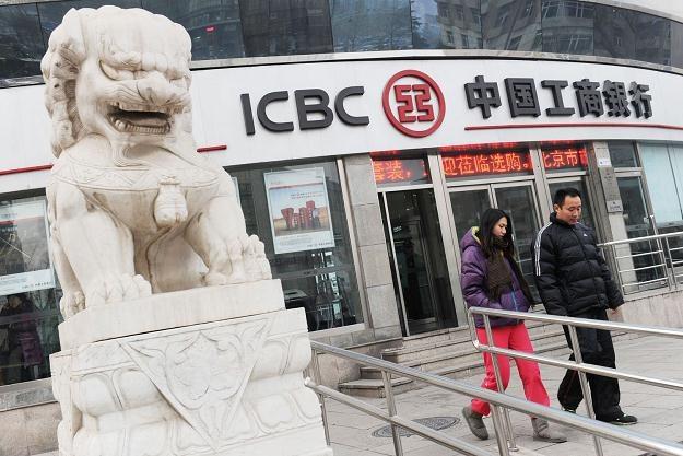 Industrial and Commercial Bank of China (ICBC) to jeden z największych banków na świecie /AFP