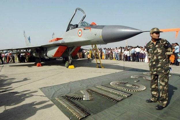 Indyjski MiG-29 /AFP