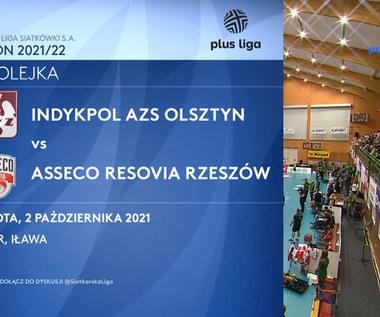 Indykpol AZS Olsztyn – Asseco Resovia 0:3. WIDEO. (Polsat Sport)