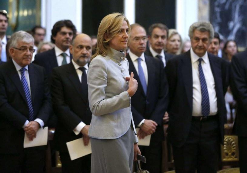 Infantka Cristina de Borbon, siostra króla Hiszpanii Filipa VI /AFP