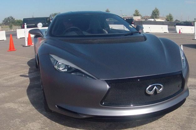Infiniti Emerg-e  podczas imprezy o nazwie Nissan360, która odbywa się w Kalifornii /INTERIA.PL