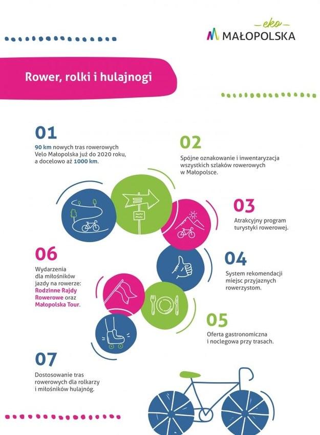 Infografika dot. programu /Materiały prasowe