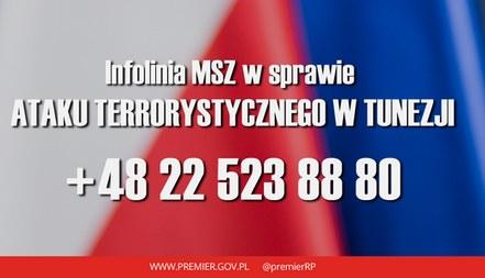 Infolinia /msz.gov.pl /