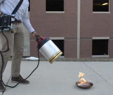 Infradźwięki mogą pomóc w gaszeniu pożarów