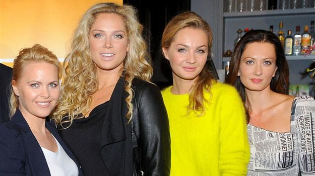 Inga (Małgorzata Socha), Patrycja (Joanna Liszowska), Zuza (Anita Sokołowska) i Anka (Magdalena Stużyńska) /Agencja W. Impact
