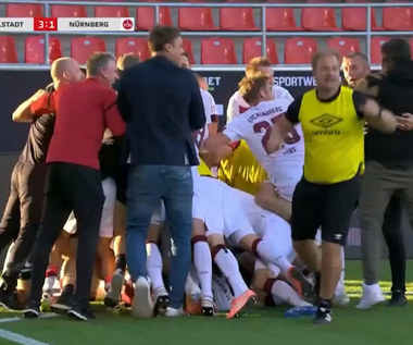 Ingolstadt - Nuernberg 3-1 - skrót (ZDJĘCIA ELEVEN SPORTS). WIDEO