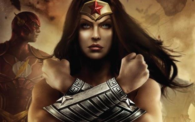 Injustice: Gods Among Us - fragment okładki jednego z wydań magazynu Game Informer /materiały prasowe