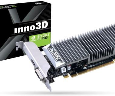 Inno3D GeForce GT 1030 0dB - karta dla oszczędnych użytkowników