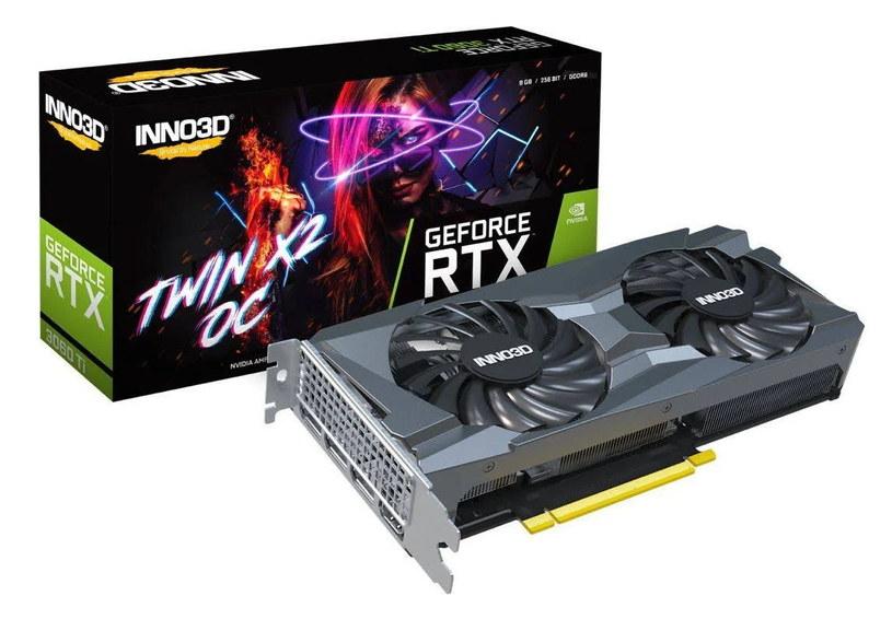 Inno3D GeForce RTX 3060 Ti Twin X2 OC /materiały prasowe