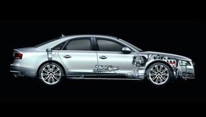 Innowacyjne Audi A8 D4 w aluminiowej zbroi