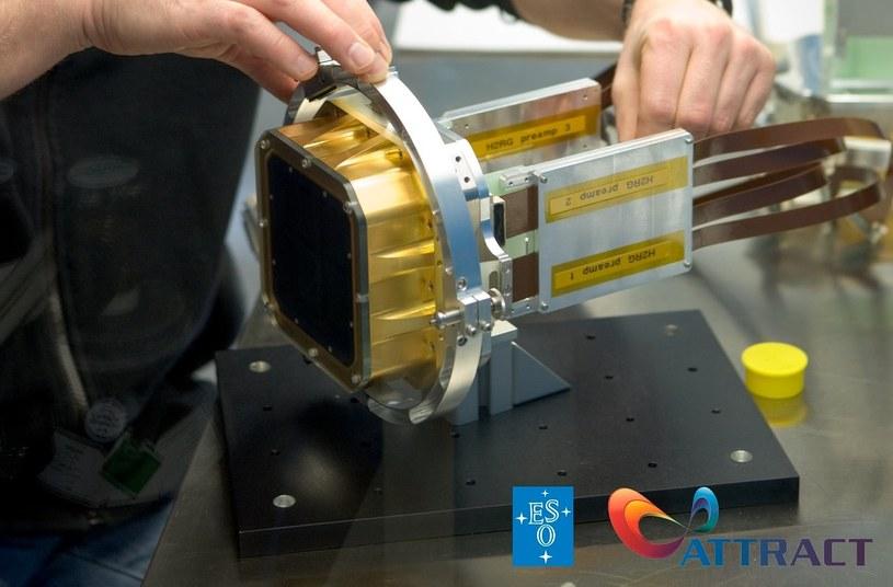 Innowacyjny detektor stworzony we współpracy z ESO /materiały prasowe
