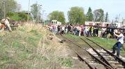 Inscenizacja ataku na pociąg w Rogowie