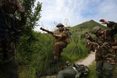 Inscenizacja bitwy pod Monte Cassino