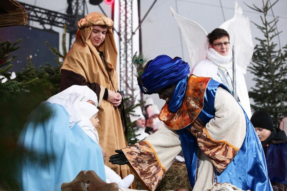 Inscenizacja podczas obchodów Święta Objawienia Pańskiego w Warszawie /Mateusz Marek /PAP