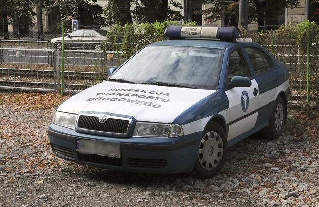 Inspektor pojechał służbowym autem...  /Fot: Włodzimierz Wasyluk /Reporter