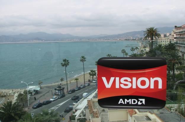 Inspiracją dla prezentacji AMD Vision był festiwal filmowy w Cannes. W tle bulwar de la Croisette /INTERIA.PL