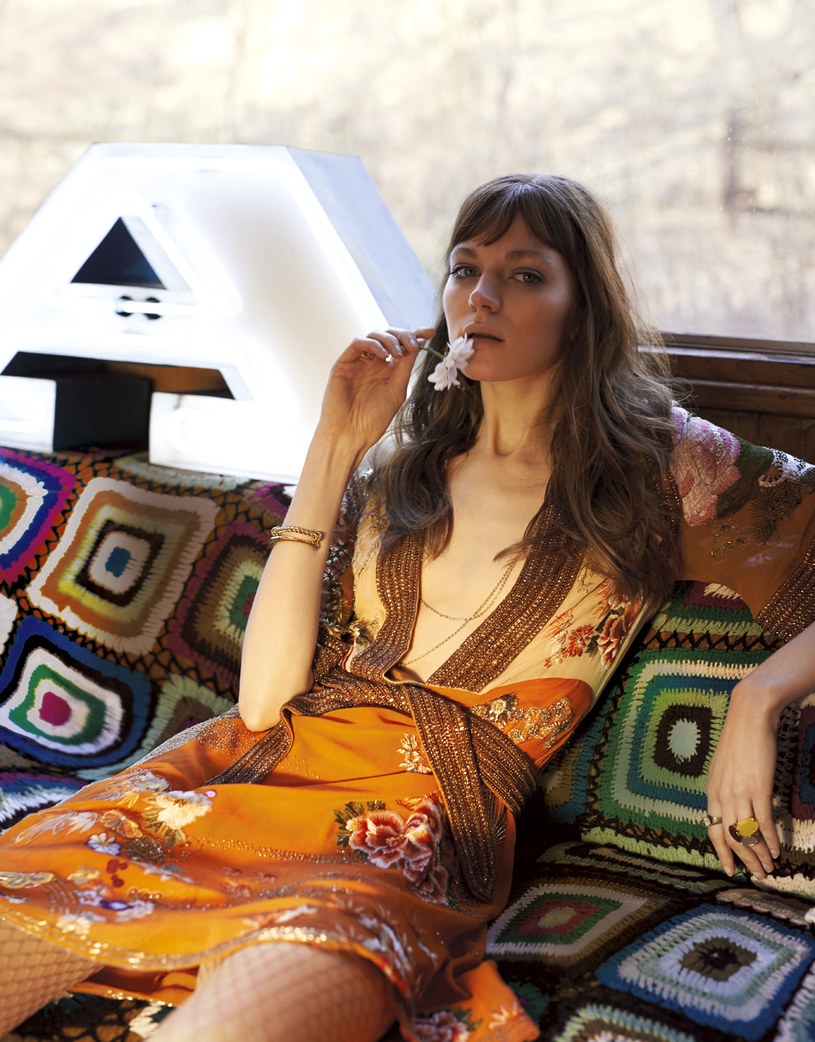 Inspiracje modą lat 70. /Magda Wunsche&Samsel /Twój Styl