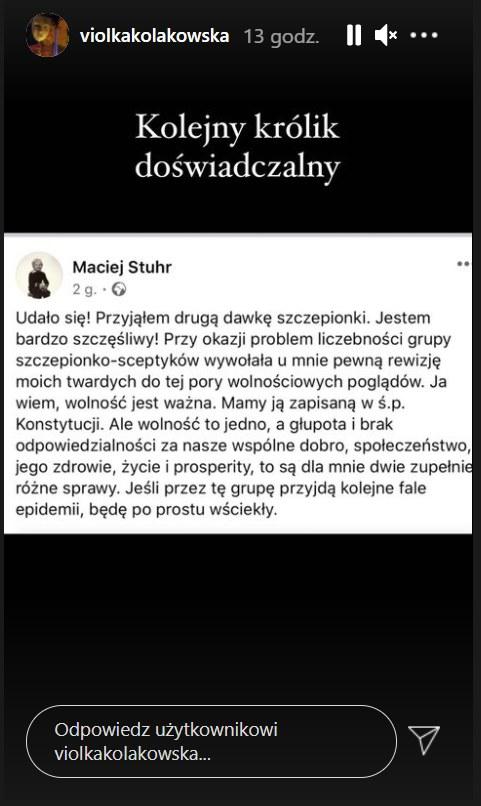 Instagram https://www.instagram.com/violkakolakowska/ /Instagram