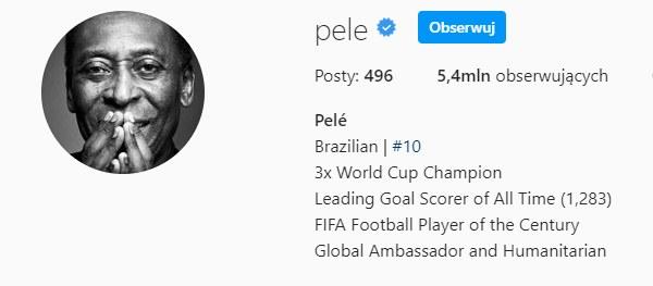 Instagram Pele /Instagram /Instagram