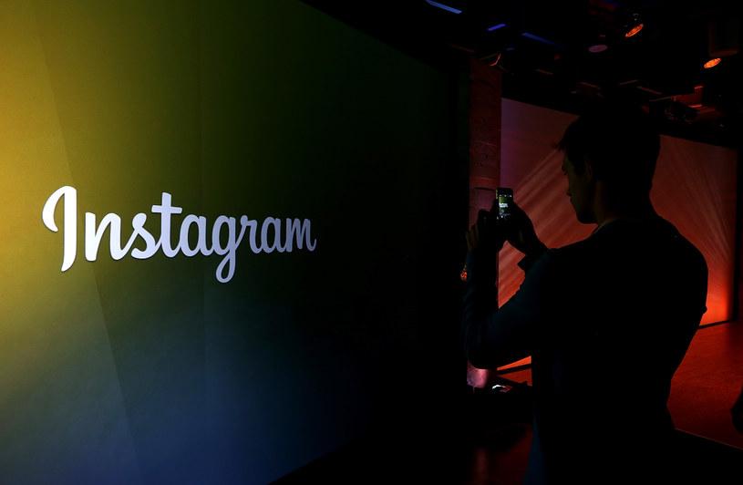 Instagram to portal społecznościowy należący do Facebooka /AFP