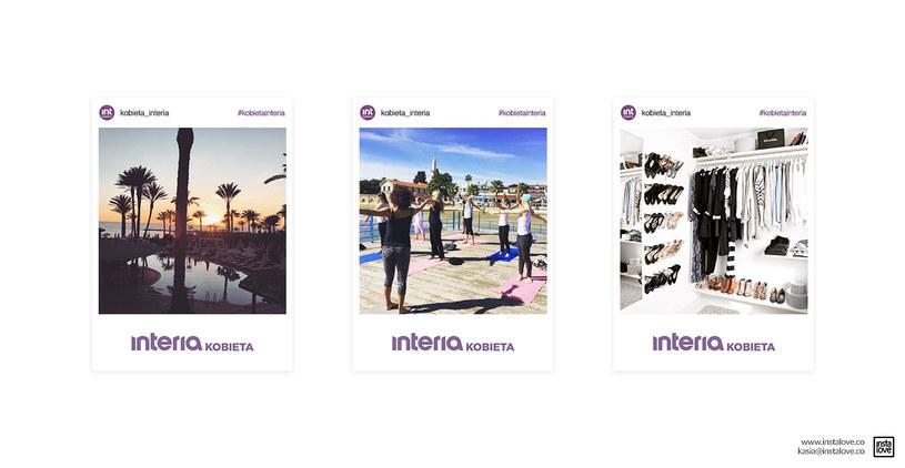 Instagramowe zdjęcia serwisu Kobieta już wydrukowane! /materiały prasowe /materiały prasowe