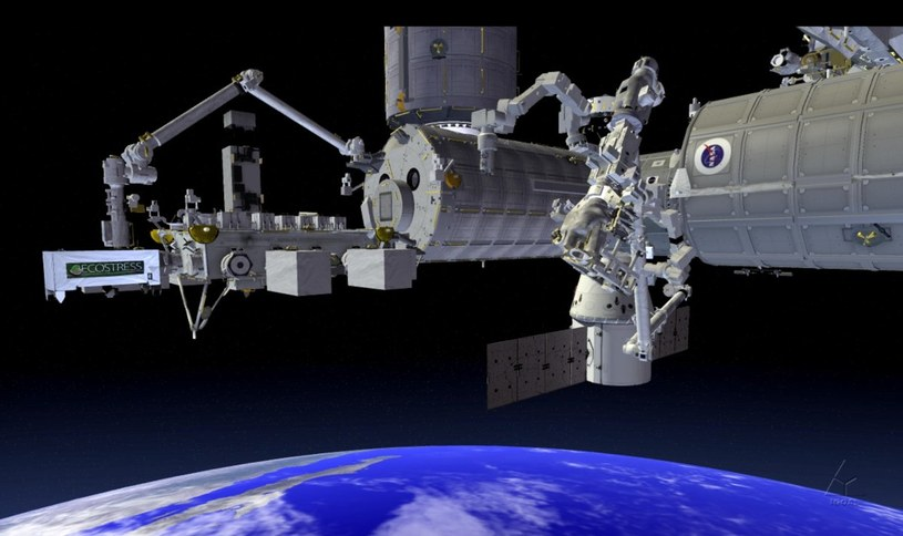 Instrument ECOSTRESS na ISS. Fot. NASA/JPL-Caltech/KSC /materiały prasowe