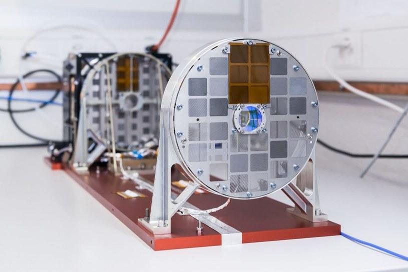 Instrument STIX (Spectrometer/ Telescope for Imaging X-rays) opracowany z udziałem Polaków z Centrum Badań Kosmicznych PAN. Fot. Jan Hellmann. /Kosmonauta