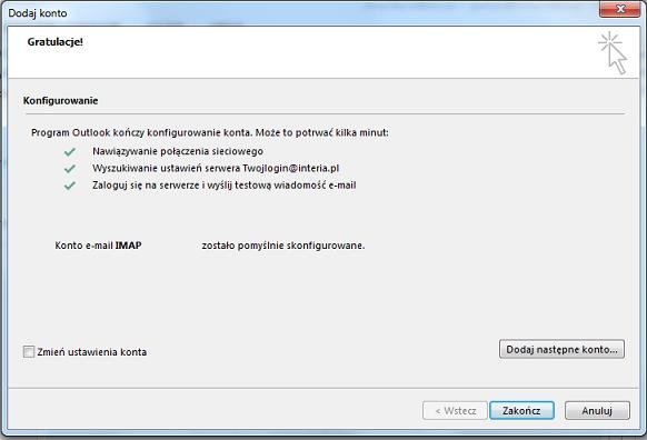 90691d94bb7c75 Microsoft Outlook - Konfiguracja programów pocztowych - Pomoc ...