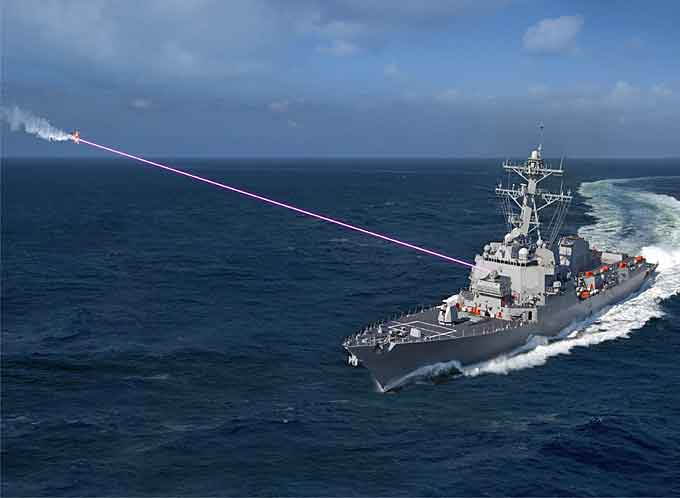 Integrated High Energy Laser Weapon Systems (HELIOS). Fot.  Lockheed Martin /materiały prasowe