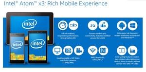 Intel Atom x3 - nowa seria procesorów mobilnych
