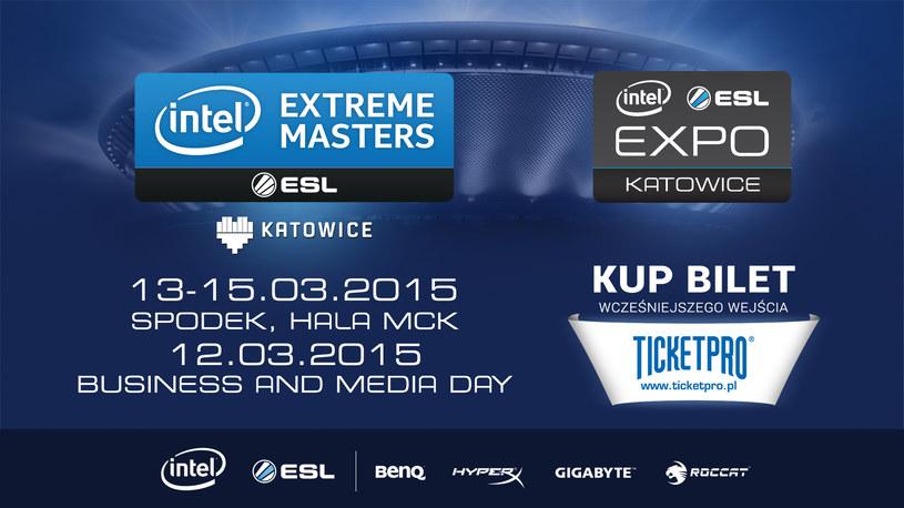 Intel Extreme Masters 2015 /materiały prasowe