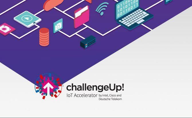 Intel Innovator Zone jest kolejnym krokiem w rozwoju współpracy między hub:raum Kraków i Intelem. Podczas Mobile World Congress, trzy globalne firmy: Cisco, Deutsche Telekom i Intel, ogłosiły rozpoczęcie programu Challenge Up! /materiały prasowe
