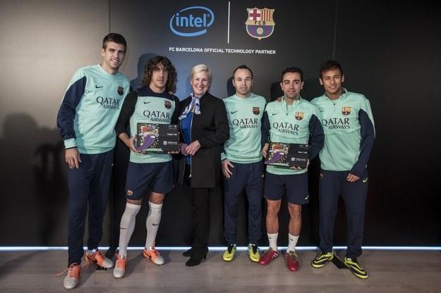 Intel napędza FC Barcelonę /materiały prasowe