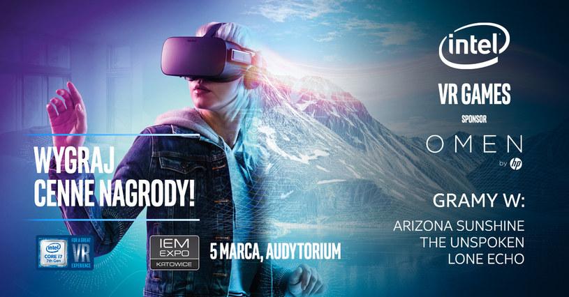 Intel VR Games /materiały prasowe