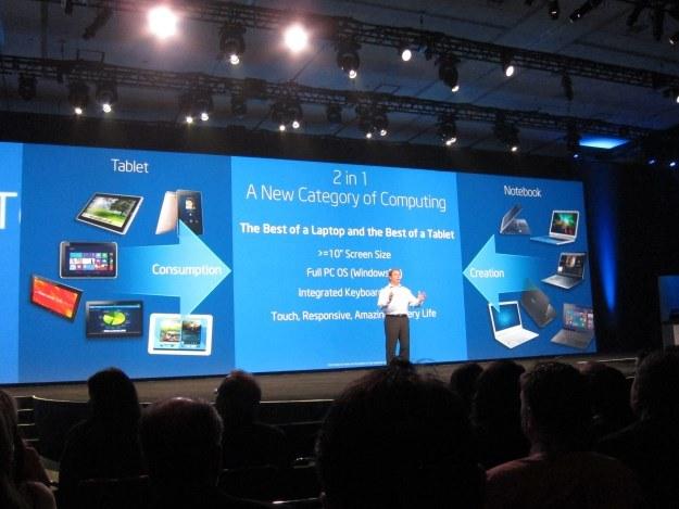 Intel zaprezentował nową rodzinę urządzeń 2w1 /INTERIA.PL