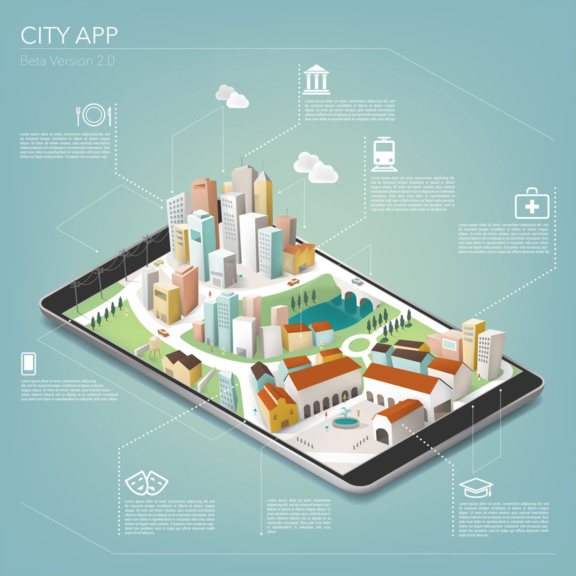 Inteligentne miasto jest zawsze połączone (always connected) - ma to swoje dobre i złe strony /123RF/PICSEL