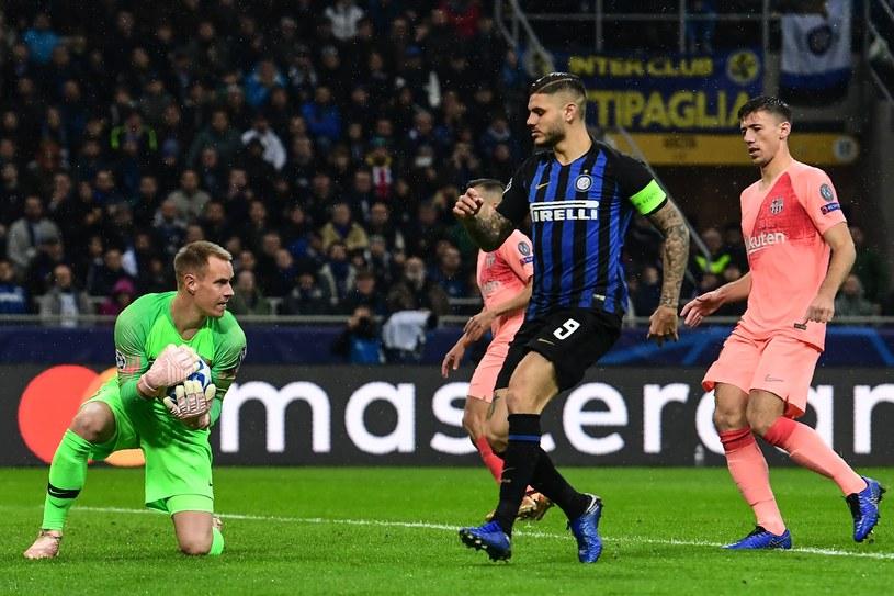 Inter Mediolan - FC Barcelona /AFP