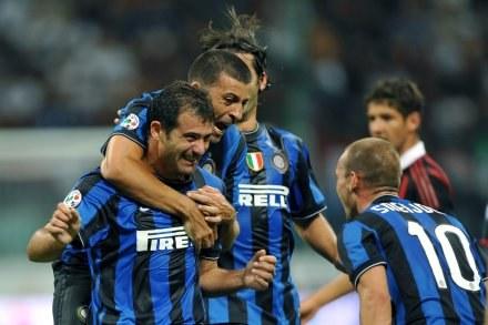 Inter Mediolan wygrał z AC Milan 4:0 /AFP