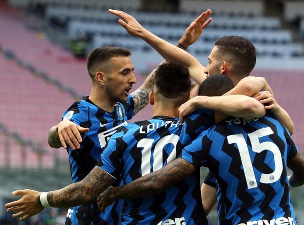 Inter Mediolan został mistrzem Włoch /MATTEO BAZZI    /PAP/EPA