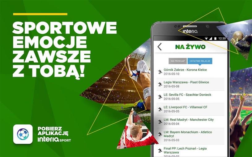 Interesujesz się sportem? Pobierz nową aplikację Interia Sport 2.0 /INTERIA.PL
