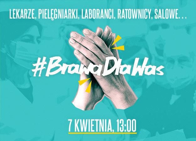 Interia dołącza do akcji #BrawaDlaWas - podziękuj na forum! /materiały prasowe