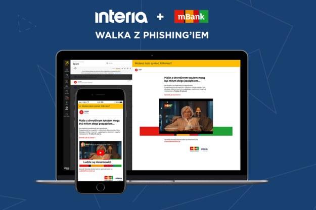 """Interia i mBank ostrzegają przed wirusami i groźną """"mielonką"""" /Interia.pl /INTERIA.PL"""