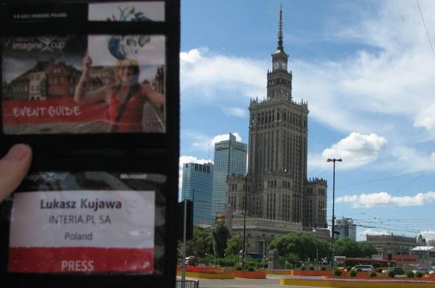 INTERIA.PL - znowu jako jedyny przedstawiciel polskich mediów piszemy o Imagine Cup cały czas /INTERIA.PL