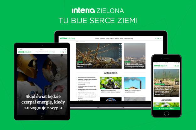 Interia z nowym serwisem ekologicznym Interia z nowym serwisem ekologicznym /Interia.pl /INTERIA.PL