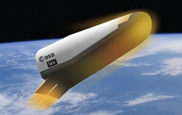 Intermediate eXperimental Vehicle (IXV) - prom kosmiczny projektowany przez ESA /Gadżetomania.pl