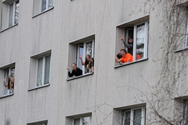 Internat Zespołu Szkół im. I. Łukasiewicza przy ul. Siedleckiej w Policach / Marcin Bielecki    /PAP