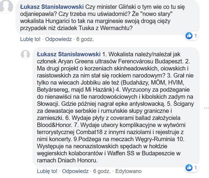 Internauci przedstawiają kolejne informacje na temat grupy Hungarica /