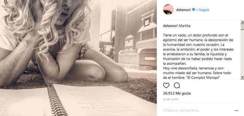 Internauci zwrócili uwagę na owłosione przedramiona, które aktorka, nie pokazując twarzy, zaprezentowała na Instagramie. Jedni doradzają jej depilację, inni chwalą za naturalność /Instagram /internet